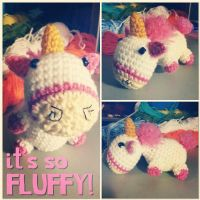 it's so FLUFFY!!! by jennybeartm
