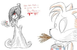 Tails' Other Mother by GirGrunny