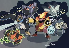 PKMN Team Platinum by Spidersaiyan