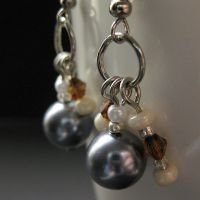 Seaside Mist Earrings by Gilliauna
