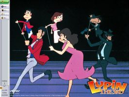 Lupin the III by DragonSneeze