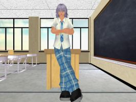 Riku School Uniform DL-MAJOR EDIT! by Realm1993