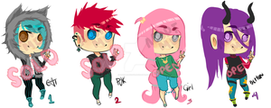 Adoptable Jelly Beans Batch #2 [OPEN] 2/4 adopted by DoodleLuvzYo1