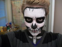 Skeleton Facepaint by Yazoto