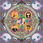 Phineas and Ferb Mandala by Mighty-Morphin-Mimi