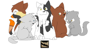 The Elder's Of ThunderClan by PikaPlatinum