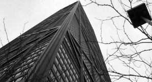 Building - Black and White by Privileg13
