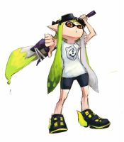 Squid Commission by 4rca