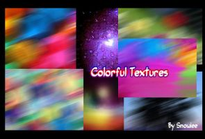 Colorful Textures by Snowiee