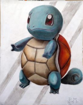 Squirtle - Picture #003 by Patrick-McAllister