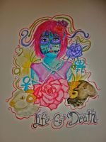Colourful Life and Death by gee231205