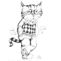 Fritz the Cat by AdanMGarcia