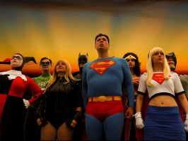 Justice League by TheValleeOfCosplay