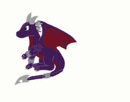 cynder (and the first thing ive drawn on a pc) by SaphiraDragon14