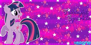 Twilight Sparkle Twitter Header by AceofPonies