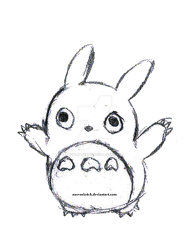 (B) Day 210 - Oh-Totoro by NuevoSketch