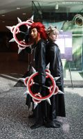 Roxas and Axel by xKiwiMonsterx