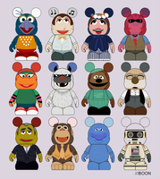 Muppet Vinylmation 4 Proposal by mbaboon