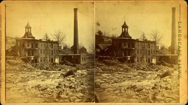 J.A. Smith's mill--Cherry Valley, by H. J. Reed by yellowishhaze