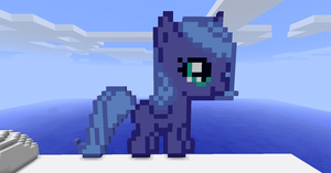 Filly Luna in minecraft fixed by Dutchcrafter