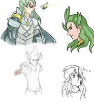 Ghetsis Character Concept Dump by GuardianAngel9x