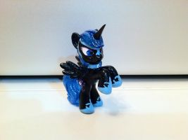 Nightmare Moon Blind Bag Custom by Kwockodile