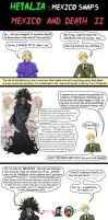 Hetalia Mexico  and death 2 by chaos-dark-lord
