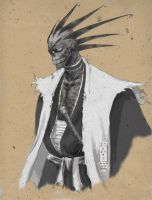 Zombie Kenpachi Zaraki by J5ALl53VRY