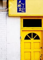 yellow door by olive-oil