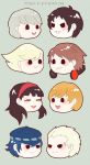 persona 4 magnets by resubee