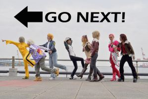 GO NEXT by fullmetalflower