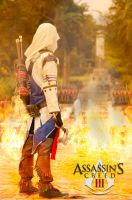 Connor Kenway Cosplay by me by TheOneWhoIam