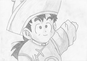 Little Gohan -Shade- by Pantheiros