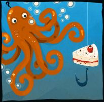 how not to catch an octopus by Araniel