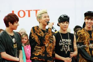BTS in MOSCOW 14/06/14 by sasha-pak
