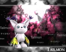 Tailmon 3d by me by EAA123
