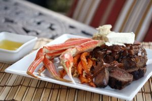 Steak and Crabs 3 by laurenjacob