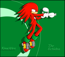 ::Speed Paint:: Knuckles 100% MS Paint by AnimalCreation