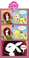 Fluttershy is Fed Up Angel. by GeeksComeOutAtNight