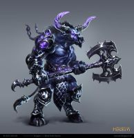 homm6 Minotaur Guard by rawwad