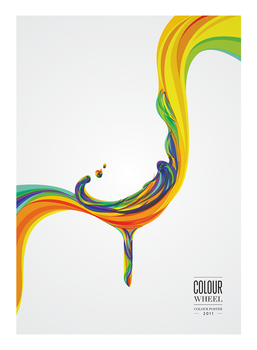 Colour Wheel Poster 2011 by sALuUm