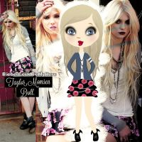 +Taylor Momsen doll - png. by BieberCouldBeMyHero