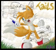 Request:Tails_lets repair it by ShaNiraNac