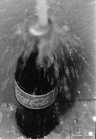 Coca Cola(Darkroom) by cheekz-jess