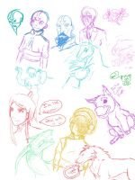 Doodle Page 9 10 2012 by witchiamwill