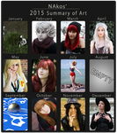 2015 Summary of Art by NAkos