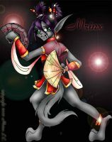 Mrinx's Fighting Fans by Myotes