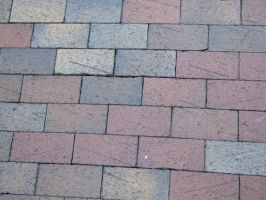 brick walkway by kayas-stock