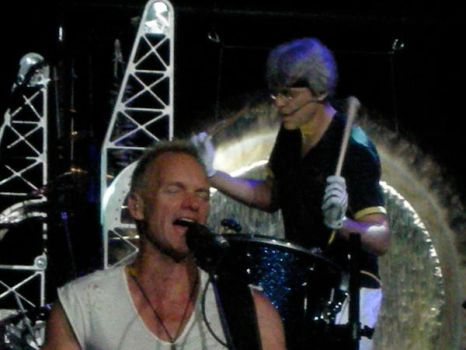 Stewart Copeland and Sting by ceebab