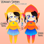 Wiggle's Sisters : Giggle and Jiggle by Pineappa